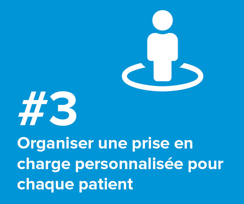 #3 Organiser une prise en charge personnalisée pour chaque patient